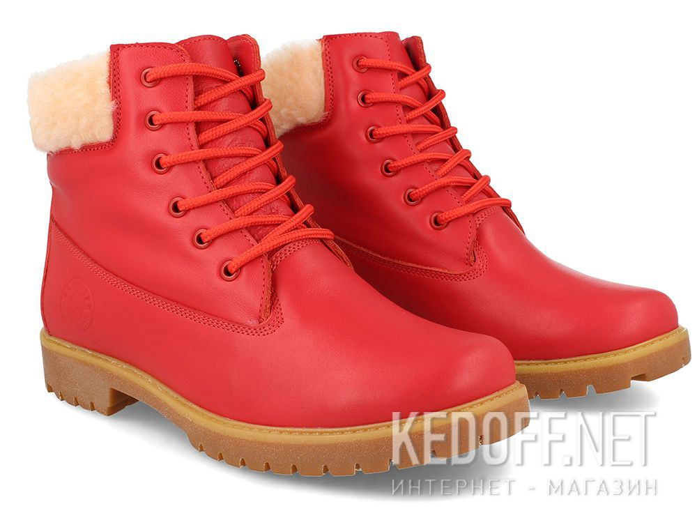 Women's shoes Forester Red Lthr Yellow Boot 0610-247 купить Украина