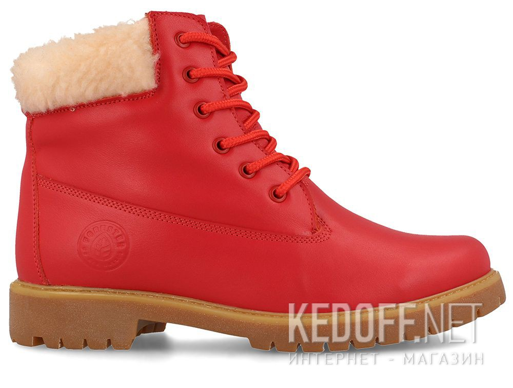 Жіночі черевики Forester Red Lthr Yellow Boot 0610-247 купить Киев