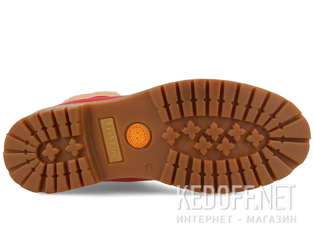 Цены на Женские ботинки Forester Red Lthr Yellow Boot  0610-247