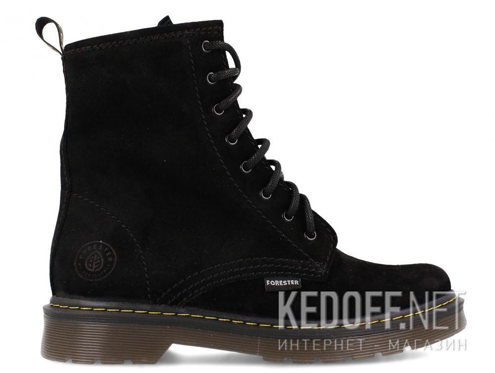 Оригинальные Женские ботинки Forester Black Martinez 1460-276MB