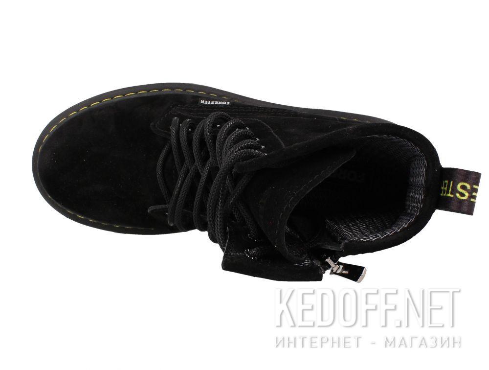 Цены на Женские ботинки Forester Black Martinez 1460-276MB
