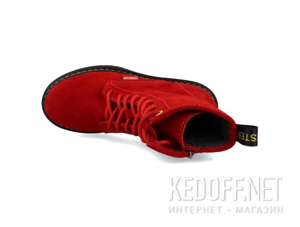 Жіночі черевики Forester Red 1460-471 описание