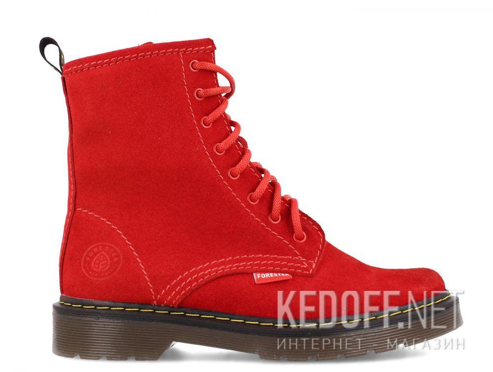 Женские ботинки Forester Red Martinez 1460-472MB купить Киев