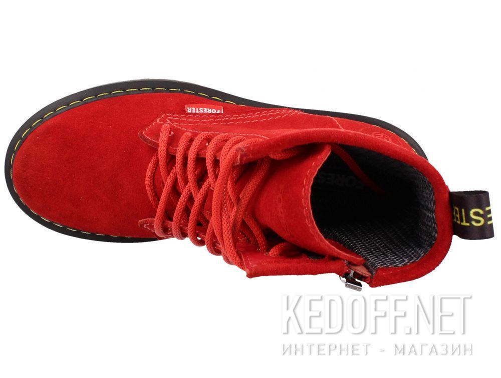 Оригинальные Женские ботинки Forester Red Martinez 1460-472MB