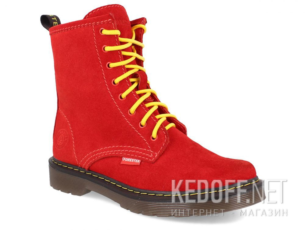 Цены на Женские ботинки Forester Red Martinez 1460-472MB
