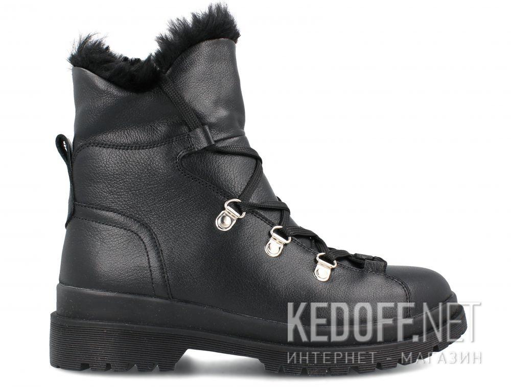 Женские ботинки Forester Black Pedula 1590-27 купить Украина