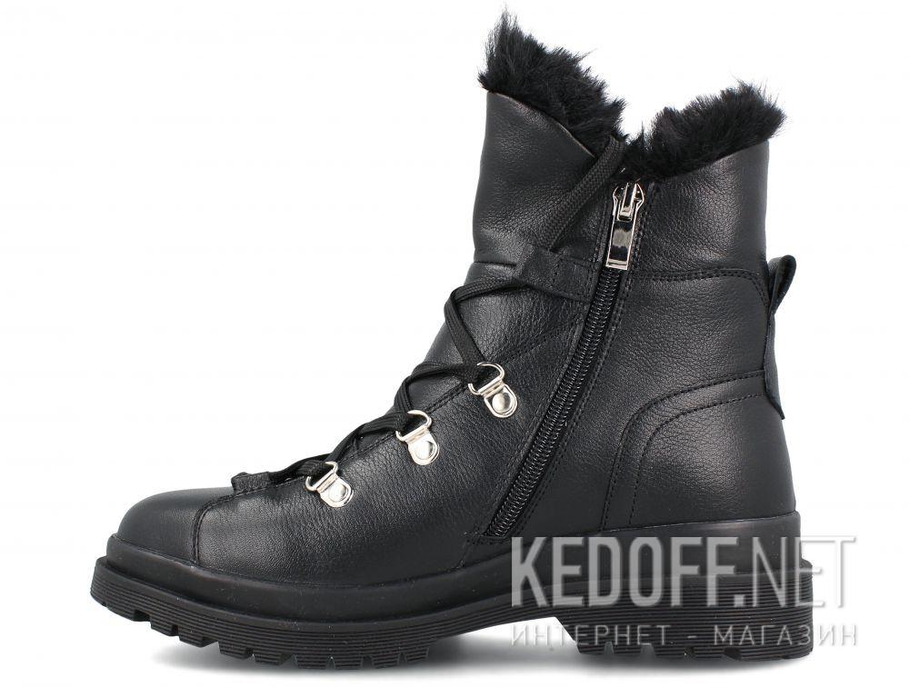 Женские ботинки Forester Black Pedula 1590-27 купить Киев