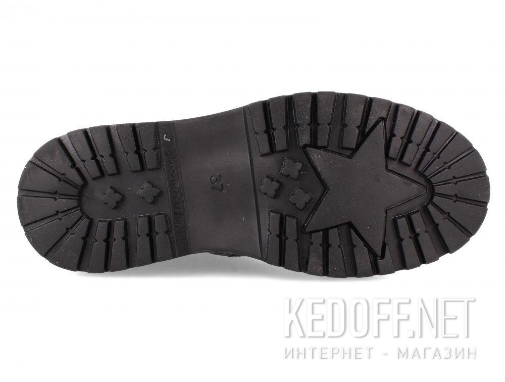 Жіночі черевики Forester Black Pedula 1590-27 описание