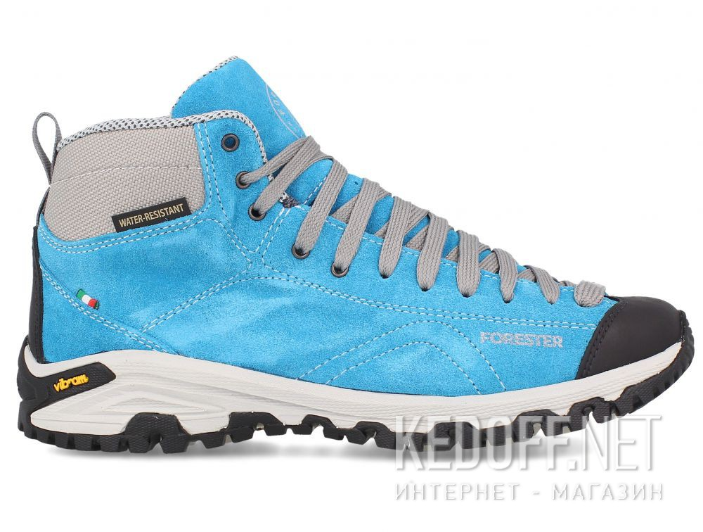 Замшевые ботинки Forester Blue Vibram 247951-40 Made in Italy купить Украина