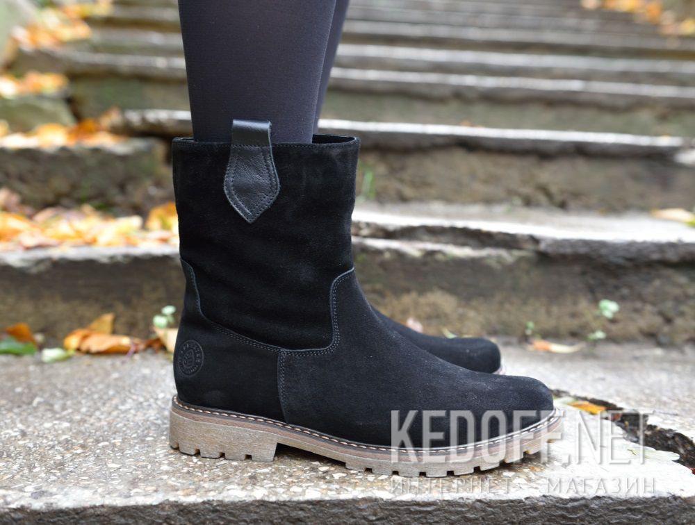 Женские ботинки Forester 3057-27    (чёрный) все размеры
