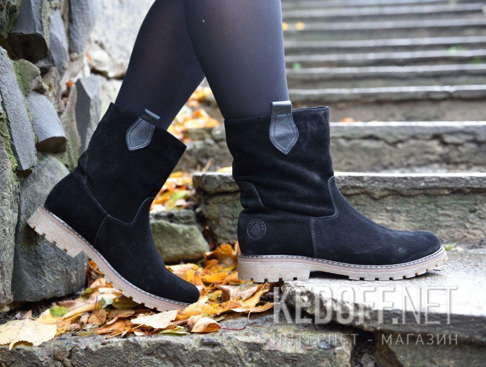 Доставка Женские ботинки Forester 3057-27    (чёрный)
