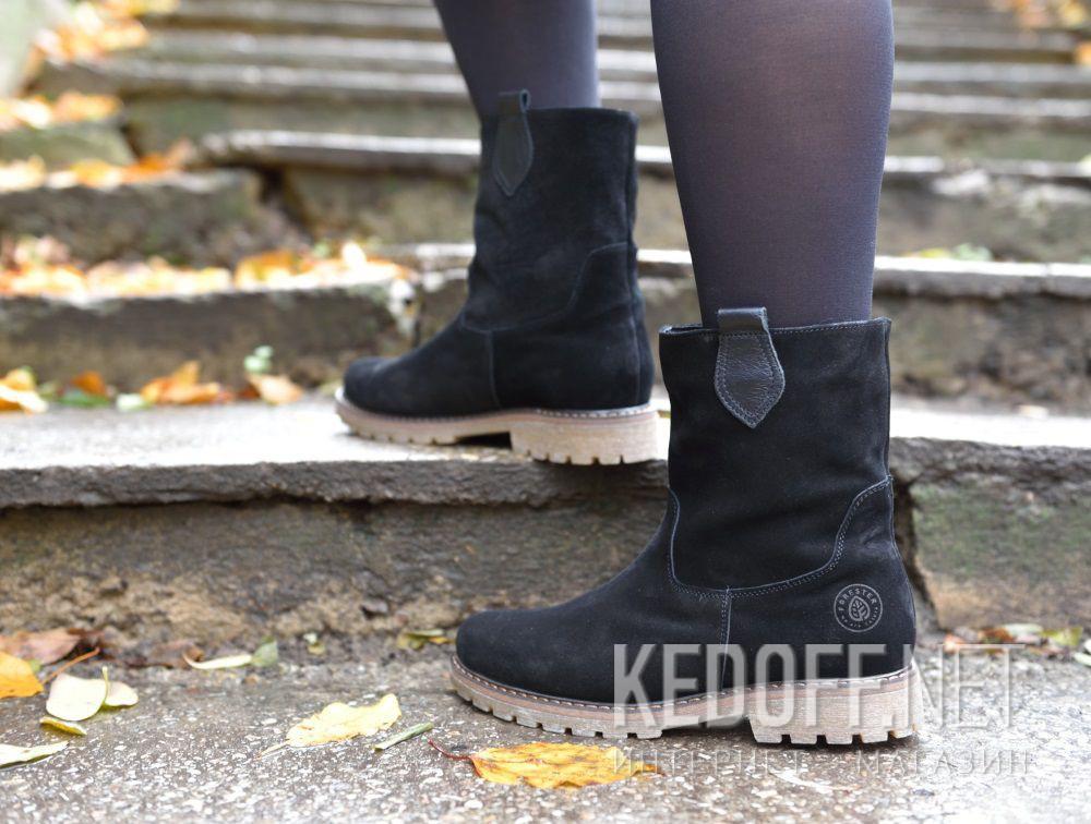 Цены на Женские ботинки Forester 3057-27    (чёрный)
