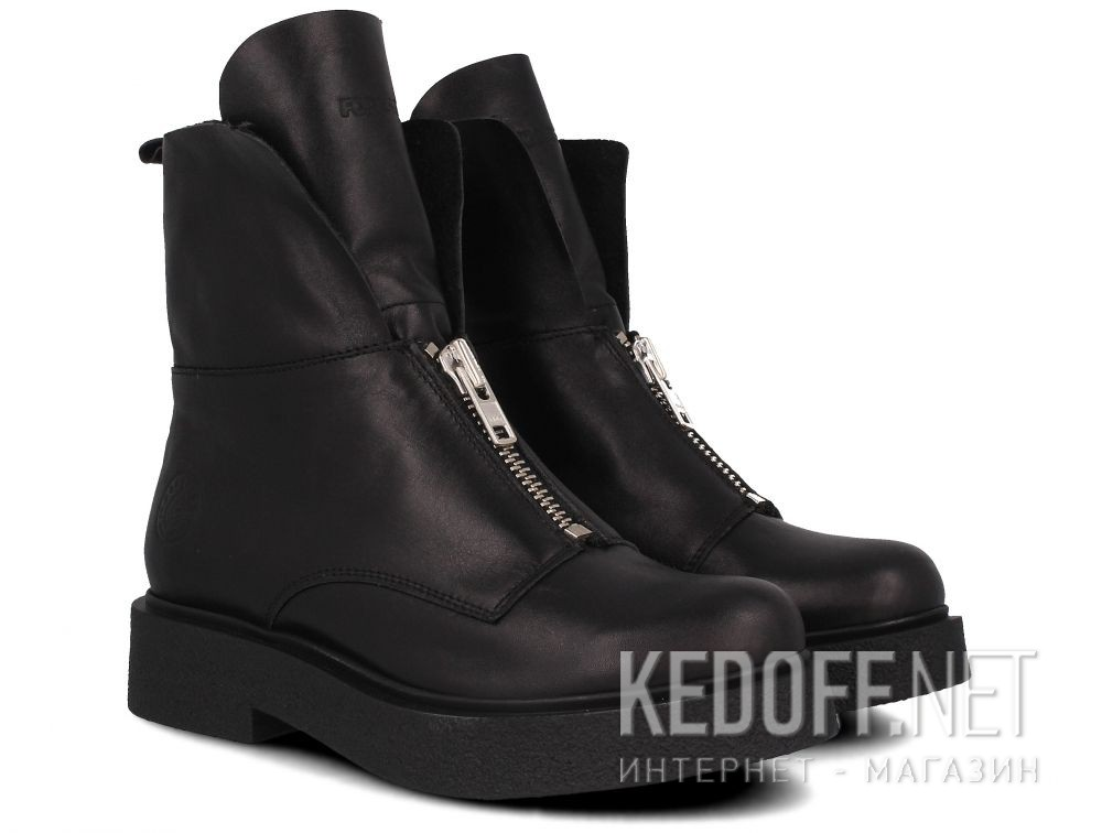 Женские ботинки Forester Zip Wool 81801-271 на меху описание