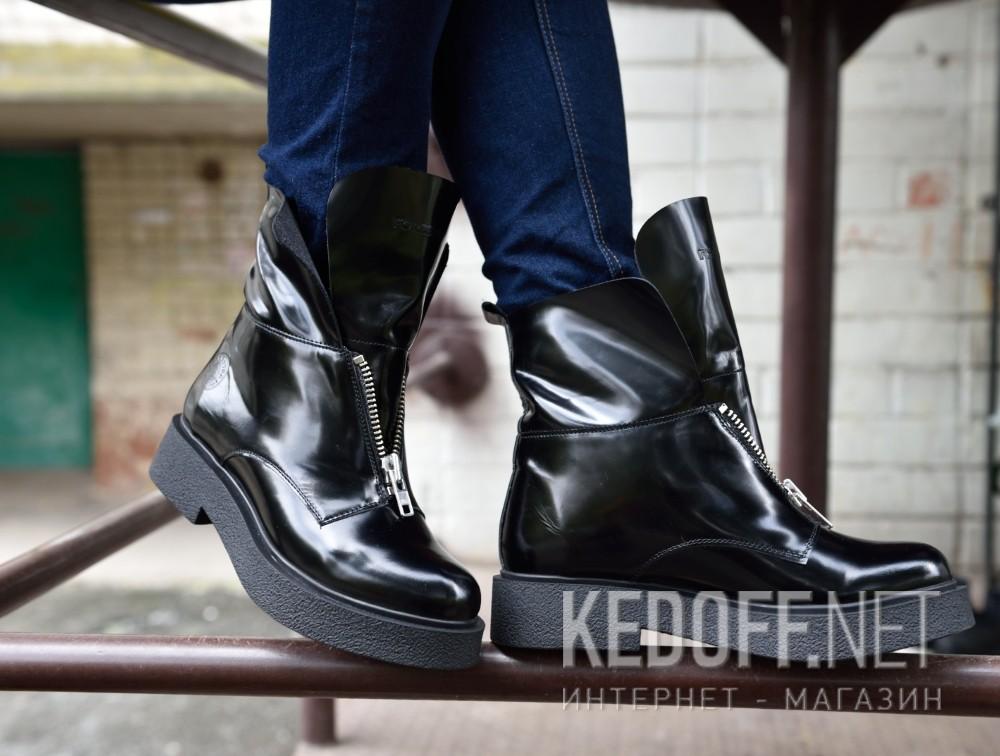 Доставка Женские ботинки Forester Zip Nappa 81891-27