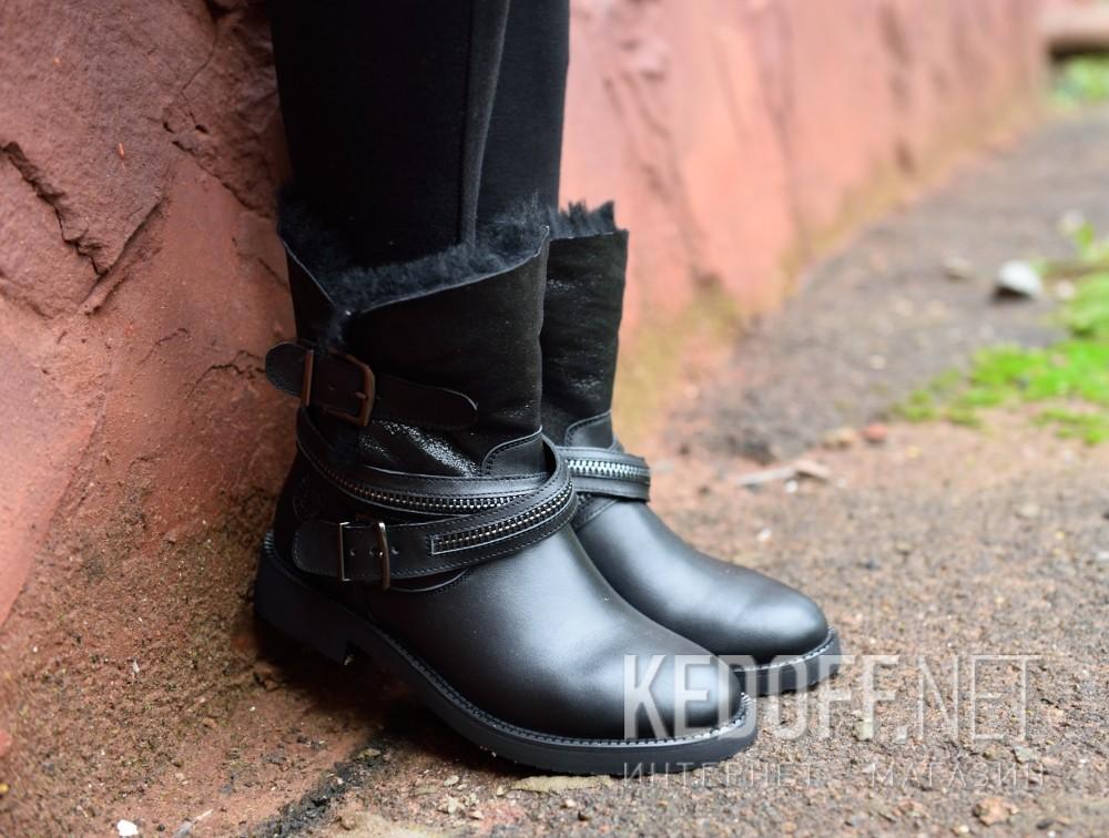 Женские ботинки Forester 8500-27   доставка по Украине