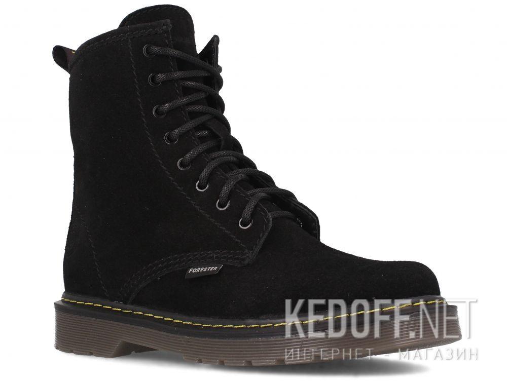 Купить Женские ботинки Forester Black Martinez 1460-276MB