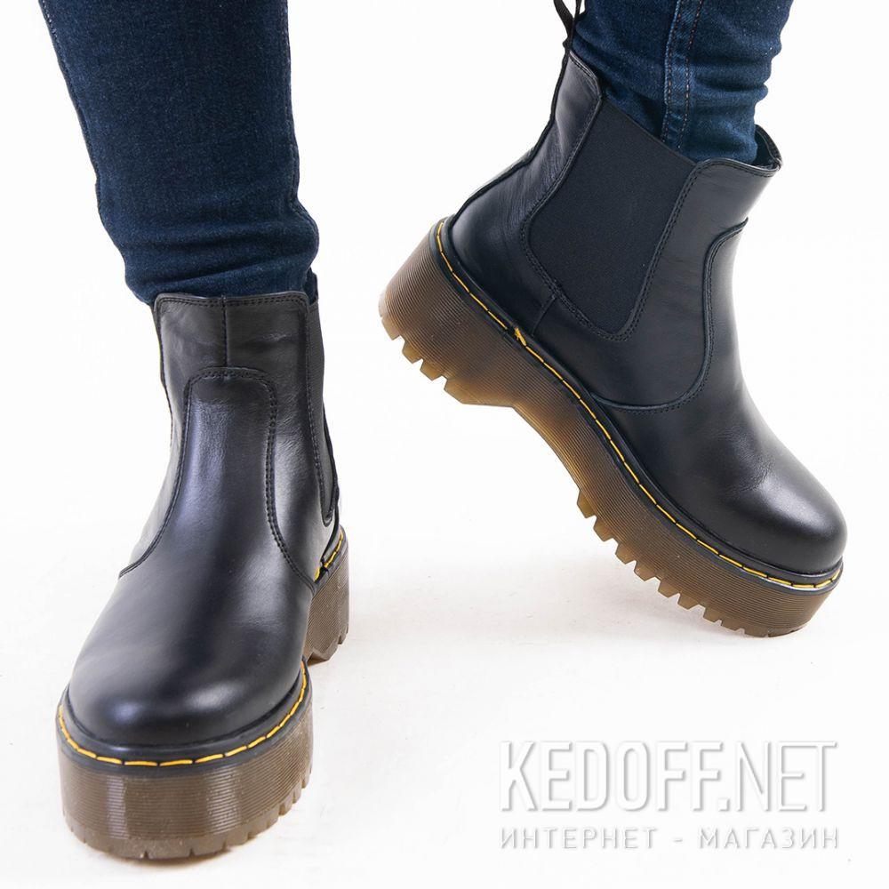 Женские ботинки Forester Chelsea boots platform 1465-624188 все размеры