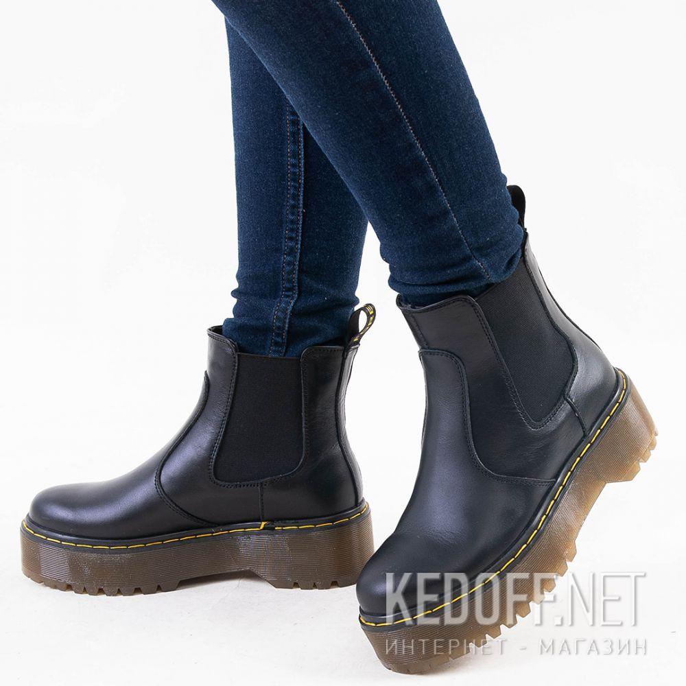 Доставка Женские ботинки Forester Chelsea boots platform 1465-624188