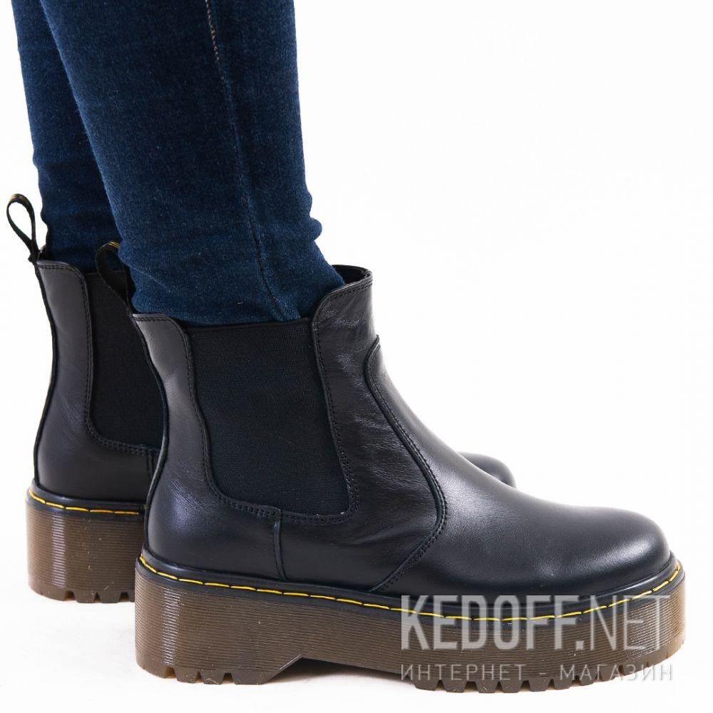 Женские ботинки Forester Chelsea boots platform 1465-624188 доставка по Украине