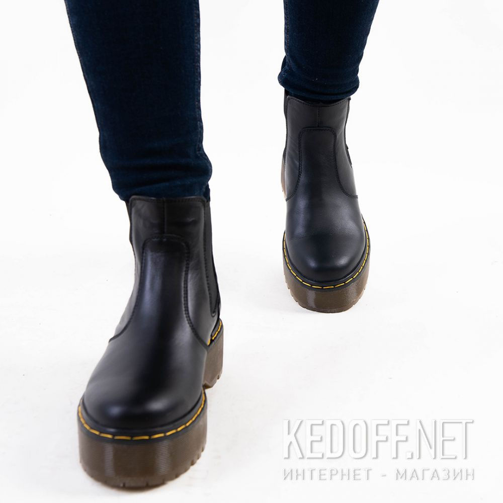 Цены на Женские ботинки Forester Chelsea boots platform 1465-624188