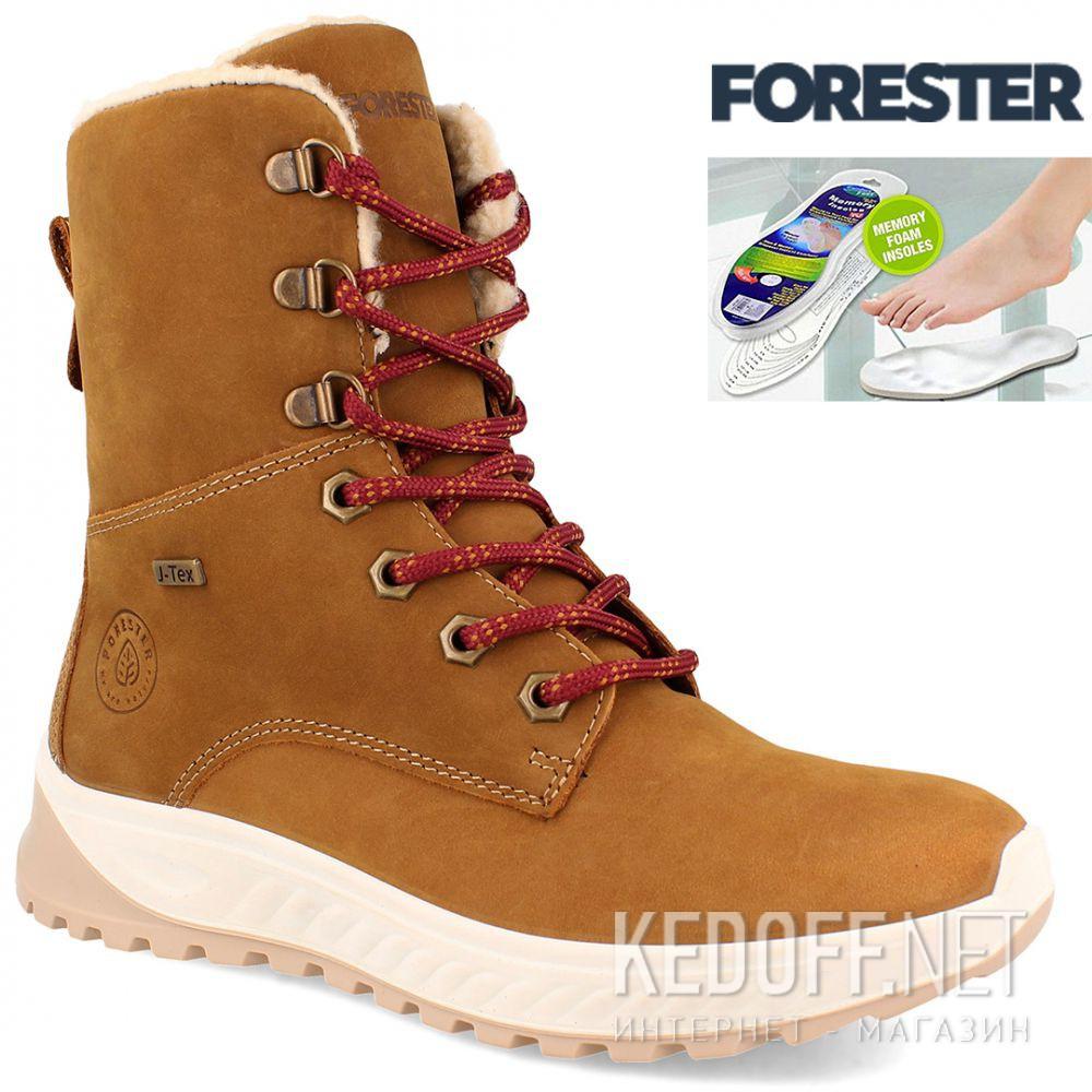 Женские ботинки Forester Ergostrike 14504-7 Memory Foam доставка по Украине