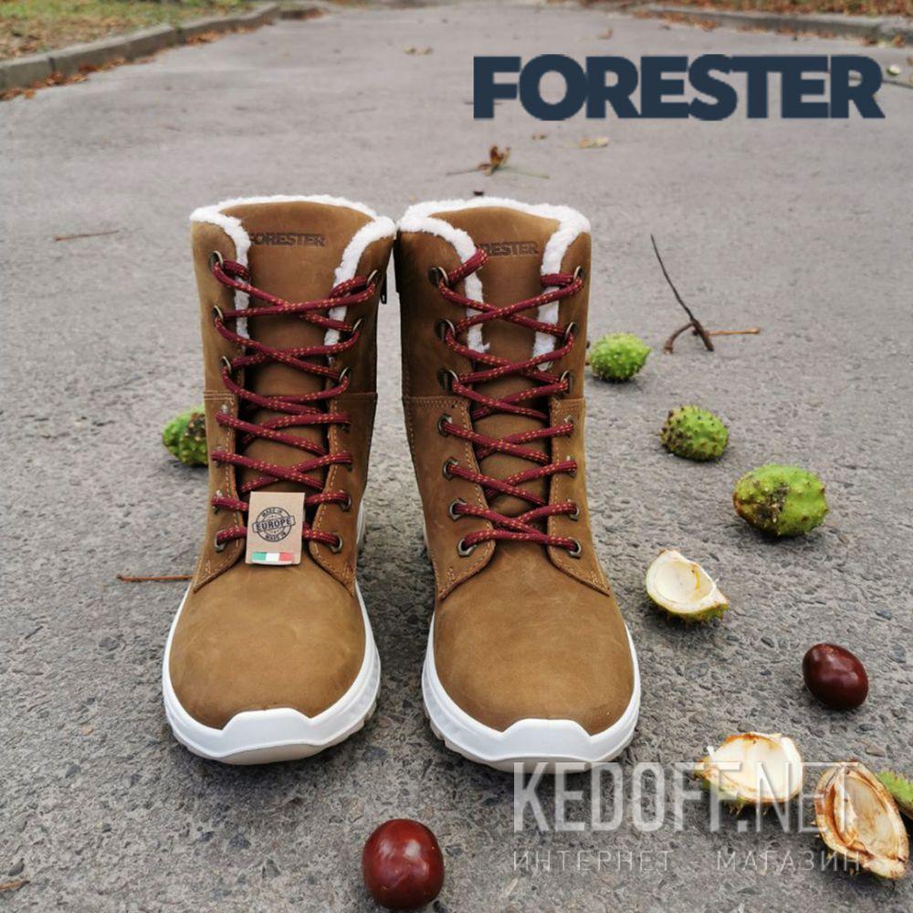 Женские ботинки Forester Ergostrike 14504-7 Memory Foam