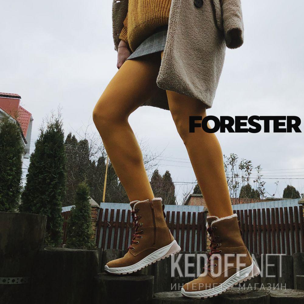Доставка Женские ботинки Forester Ergostrike 14504-7 Memory Foam