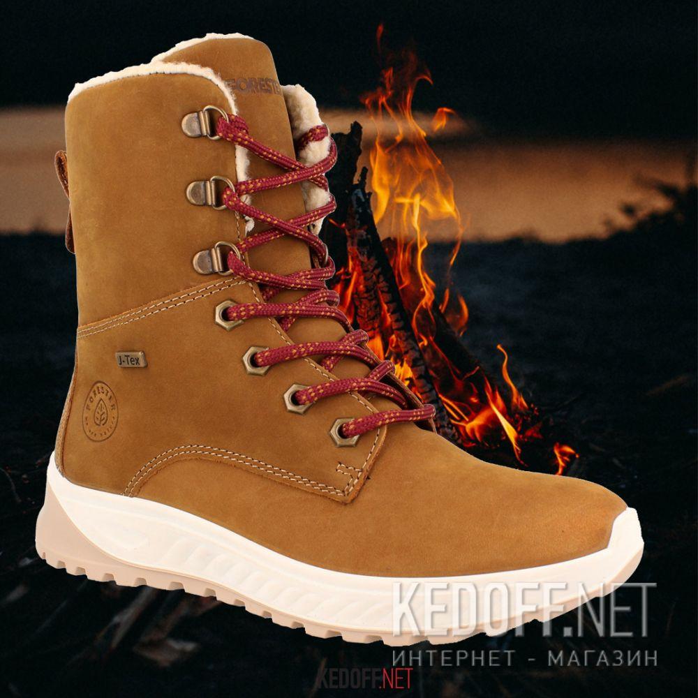 Женские ботинки Forester Ergostrike J-Tex 14504-7 Memory Foam Фото 12