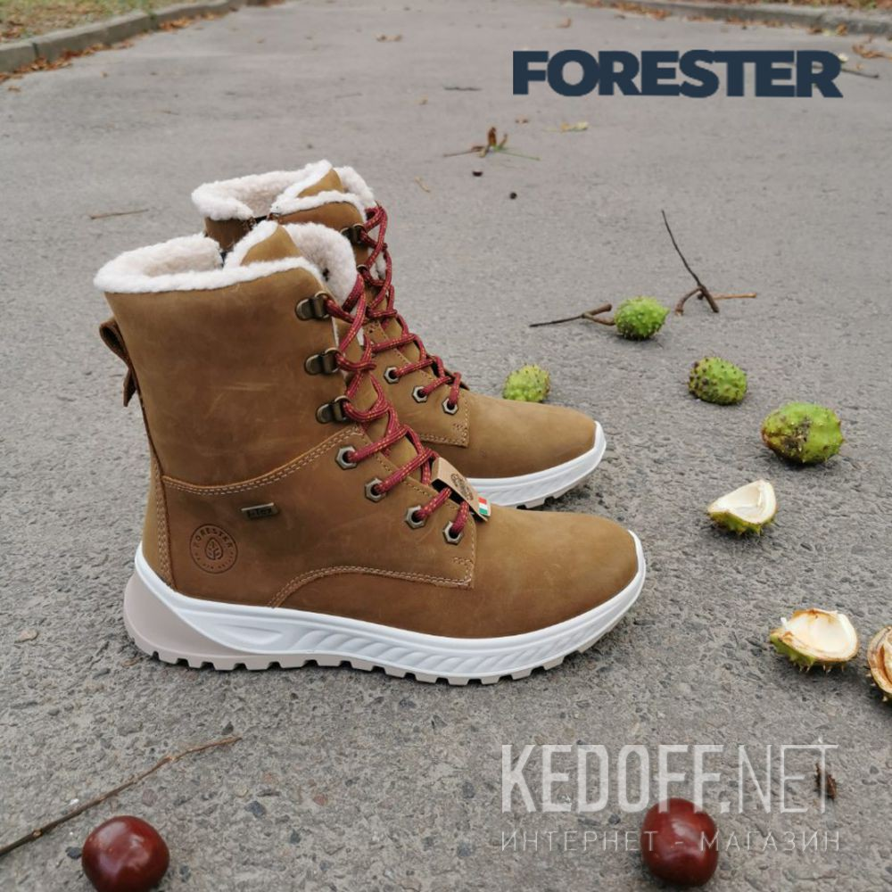 Женские ботинки Forester Ergostrike 14504-7 Memory Foam все размеры