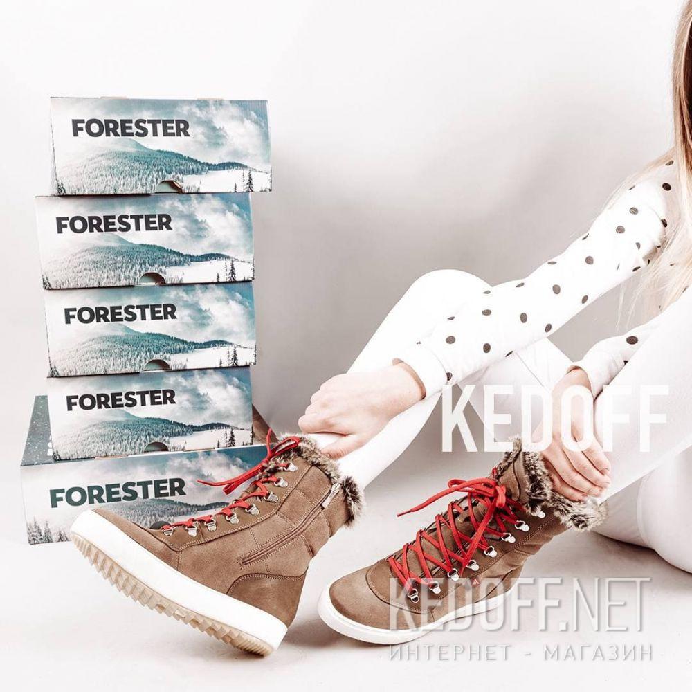 Женские ботинки Forester Oland Primaloft 2759-30 все размеры