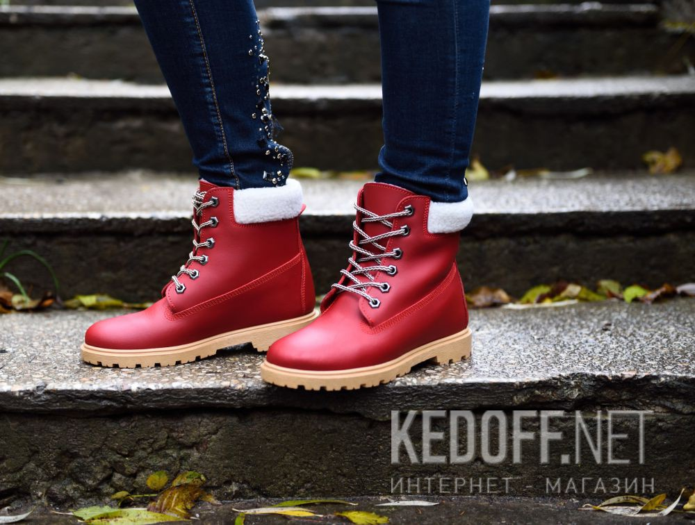 Женские ботинки Forester Pomodoro 0610-47 доставка по Украине