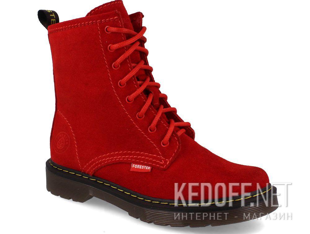 Купить Женские ботинки Forester Red Martinez 1460-472MB