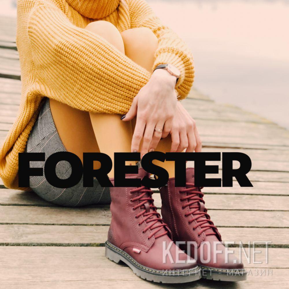 Доставка Женские ботинки Forester Serena Borteau Zip 1460-48