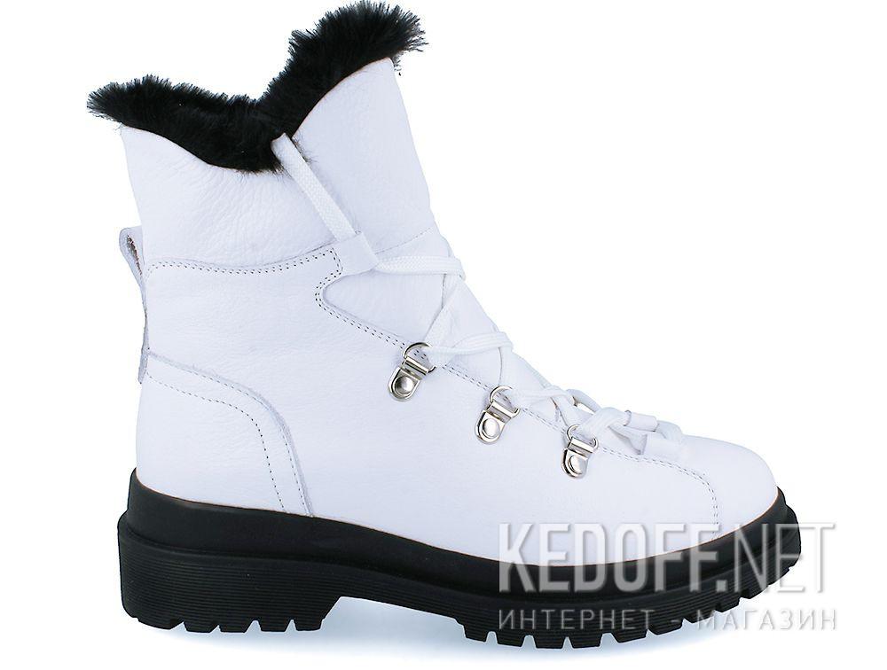 Жіночі черевики Forester White Pedula 1590-13 купити Україна