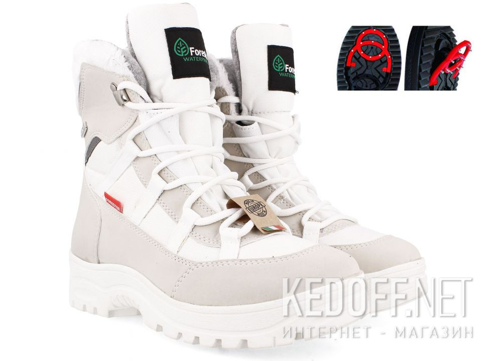 Жіночі черевики Forester Whiteland 13116-1337 OC SAystem Tipper все размеры