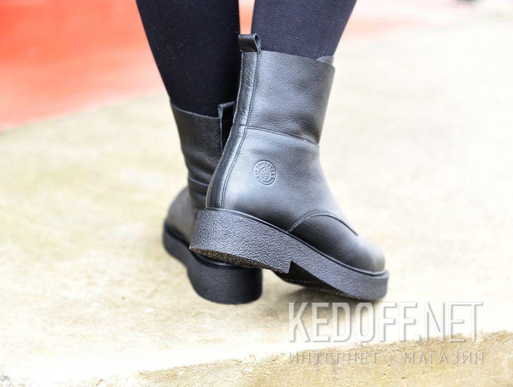 Доставка Женские ботинки Forester Zip Wool 81801-271 на меху