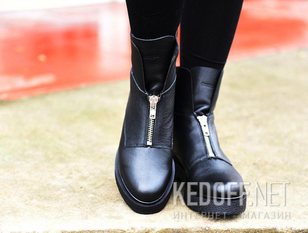 Женские ботинки Forester Zip Wool 81801-271 на меху доставка по Украине