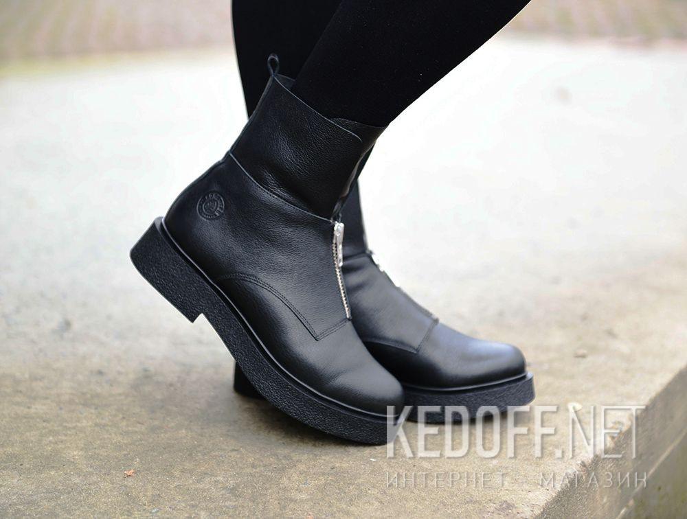 Женские ботинки Forester Zip Wool 81801-271 на меху все размеры