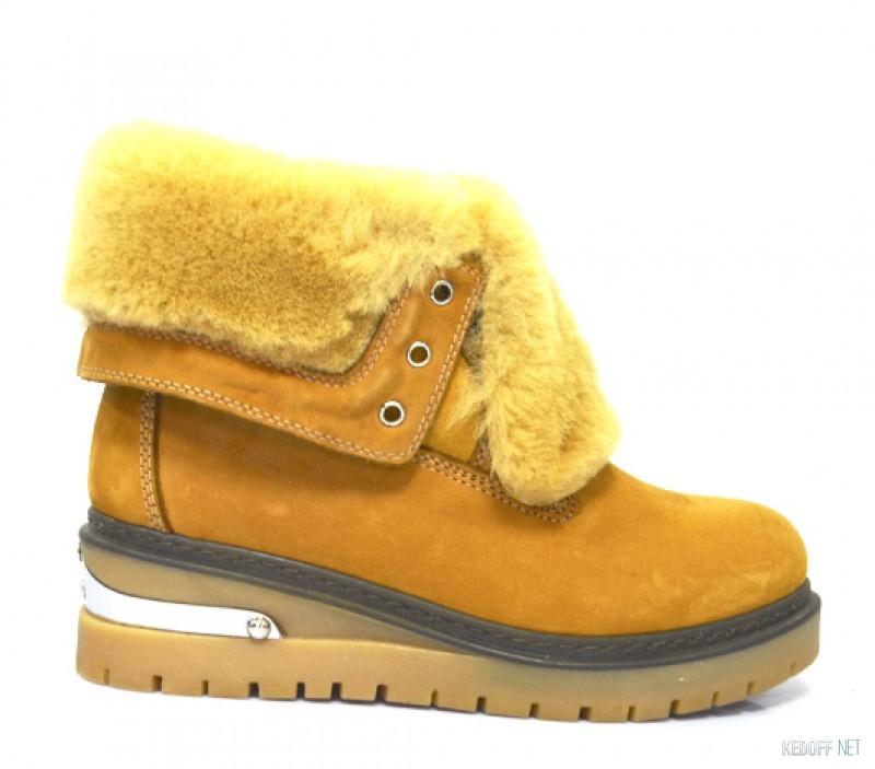 Желтые ботинки купить