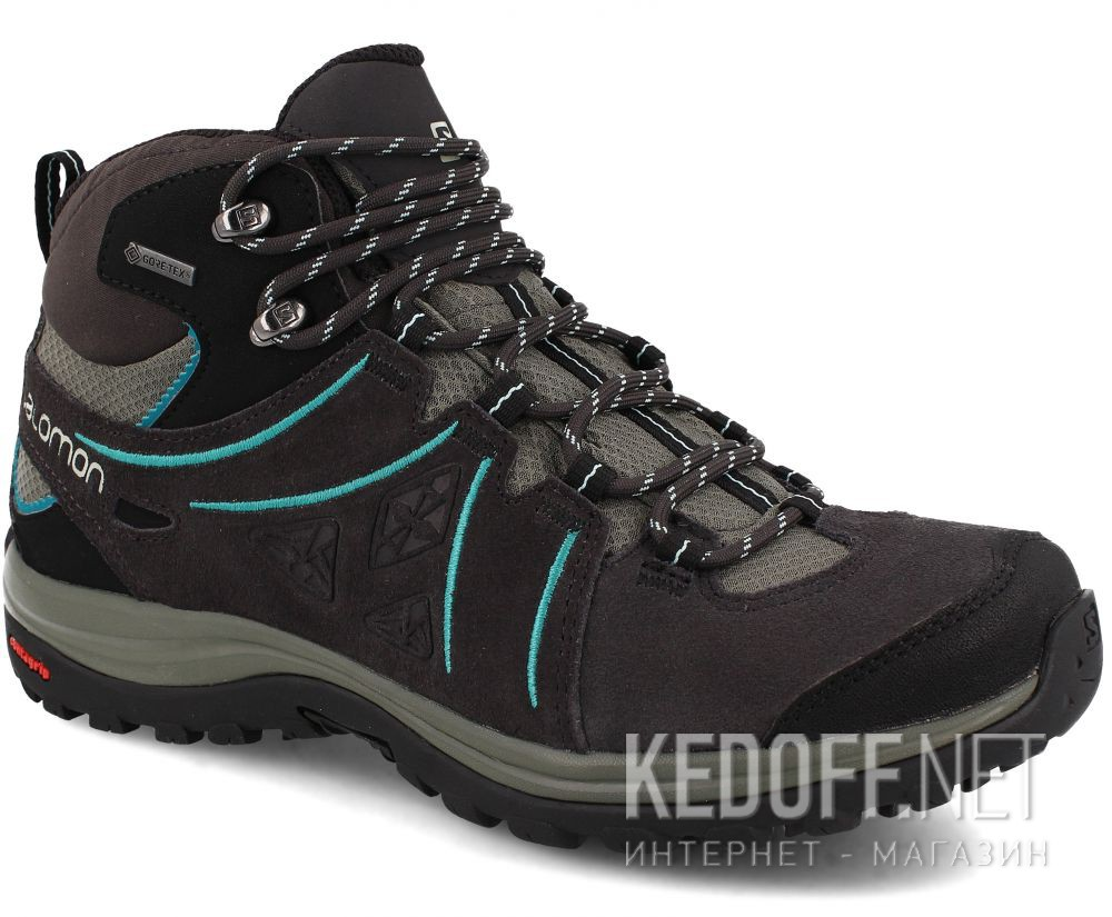outlet store c0565 d5f42 Women's boots Salomon Ellipse 2 Mid Leather Gore-Tex Gtx W 394735