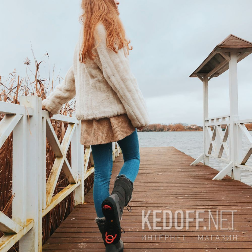 Жіночі зимові чобітки Forester Attiba 550360-37 Made in Italy доставка по Украине
