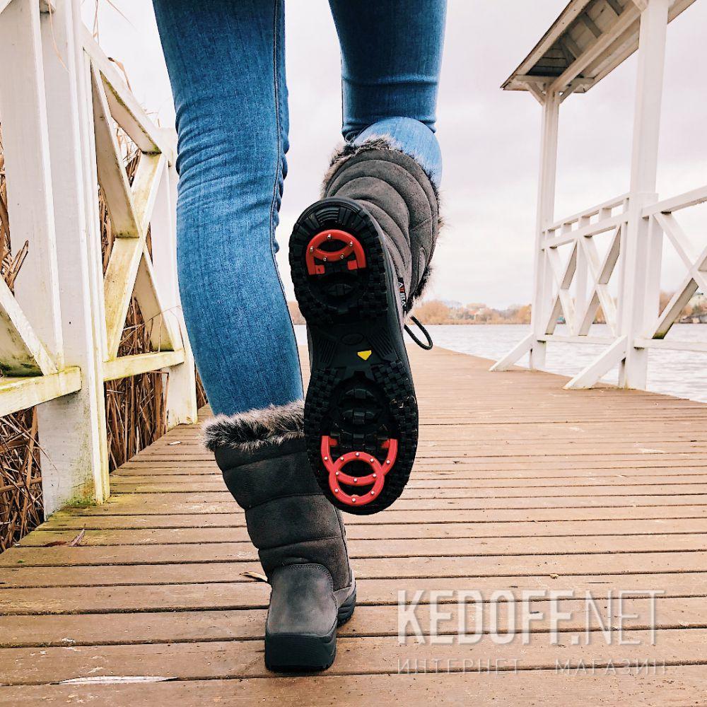 Жіночі зимові чобітки Forester Attiba 550360-37 Made in Italy