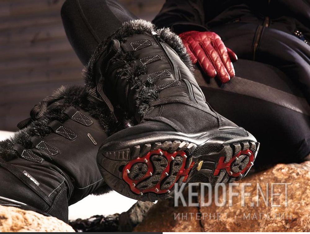 Жіночі зимові чобітки Forester Attiba 550360-37 Made in Italy Фото 12