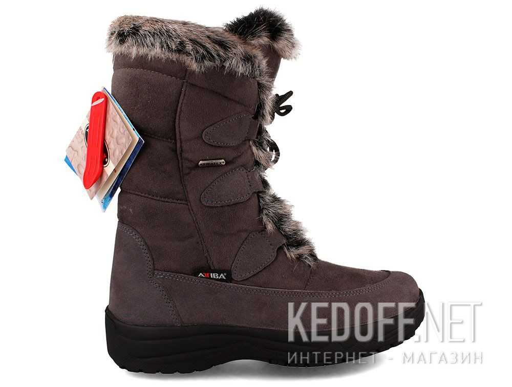 Жіночі зимові чобітки Forester Attiba 550360-37 Made in Italy купити Україна