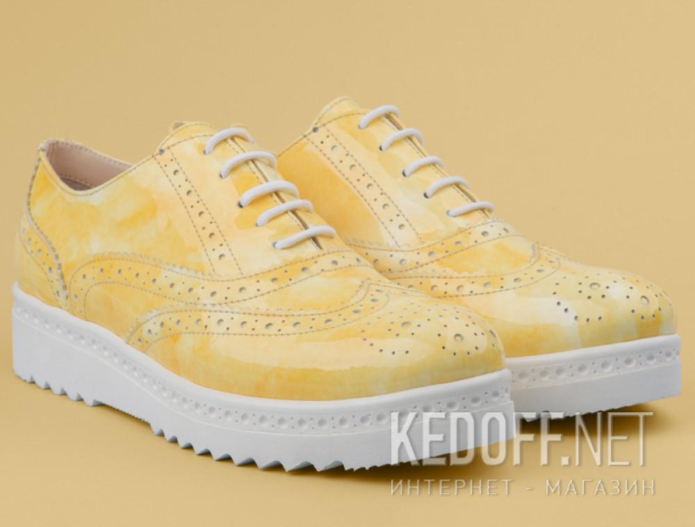Туфли Las Espadrillas 02100-15 унисекс   (жёлтый) все размеры