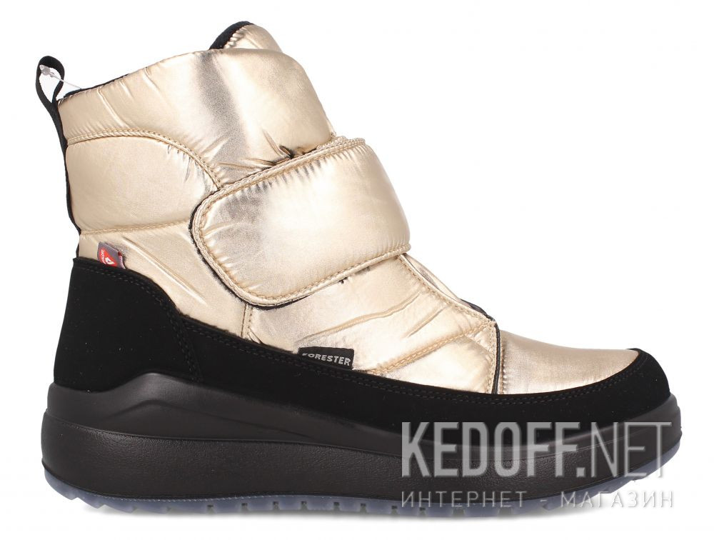 Оригинальные Жіночі дутики Forester Gold Medeu 6504-14 Primaloft