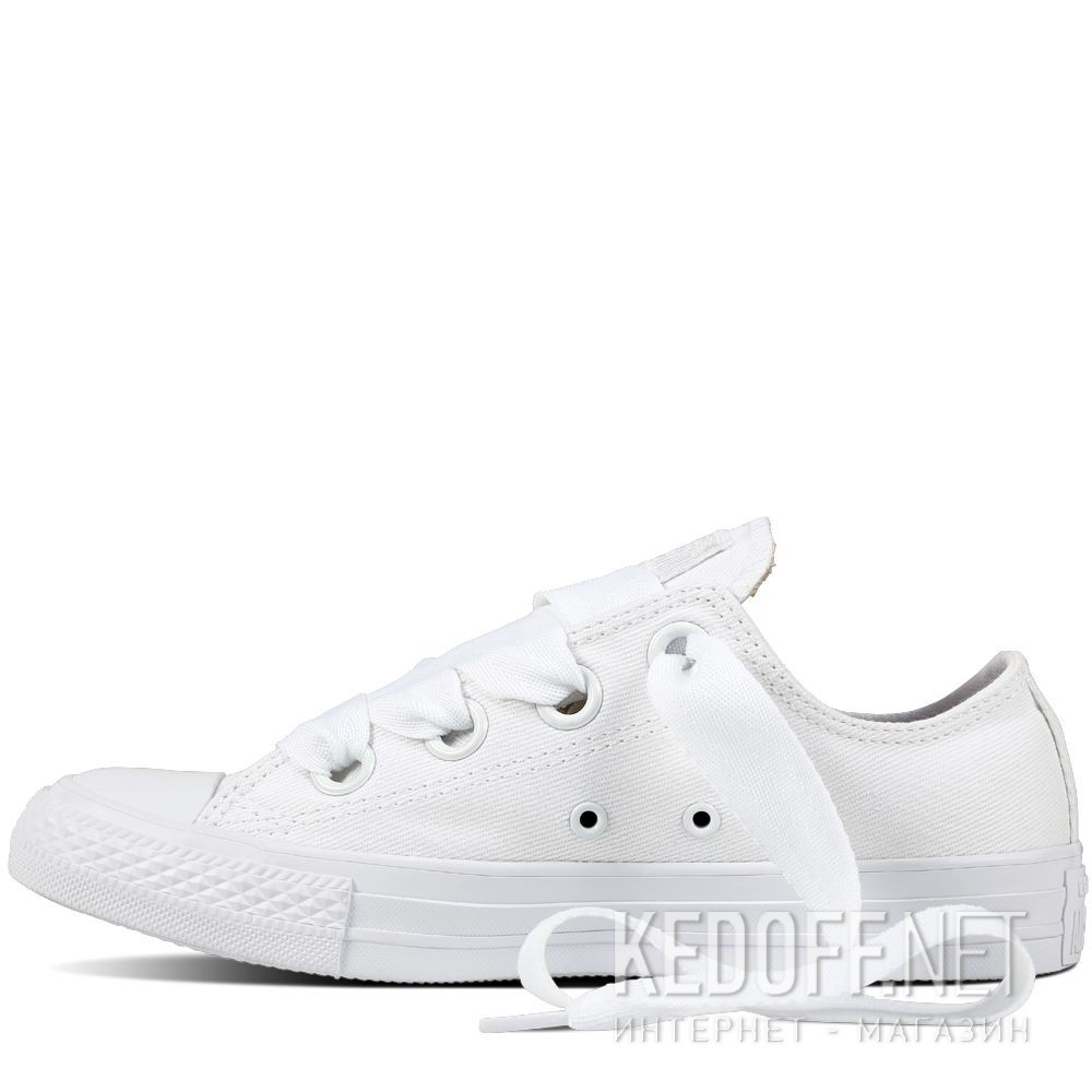 3d9da74bd424 Shop Womens sneakers Converse All Star Big Eyelet Ox 559927C at ...