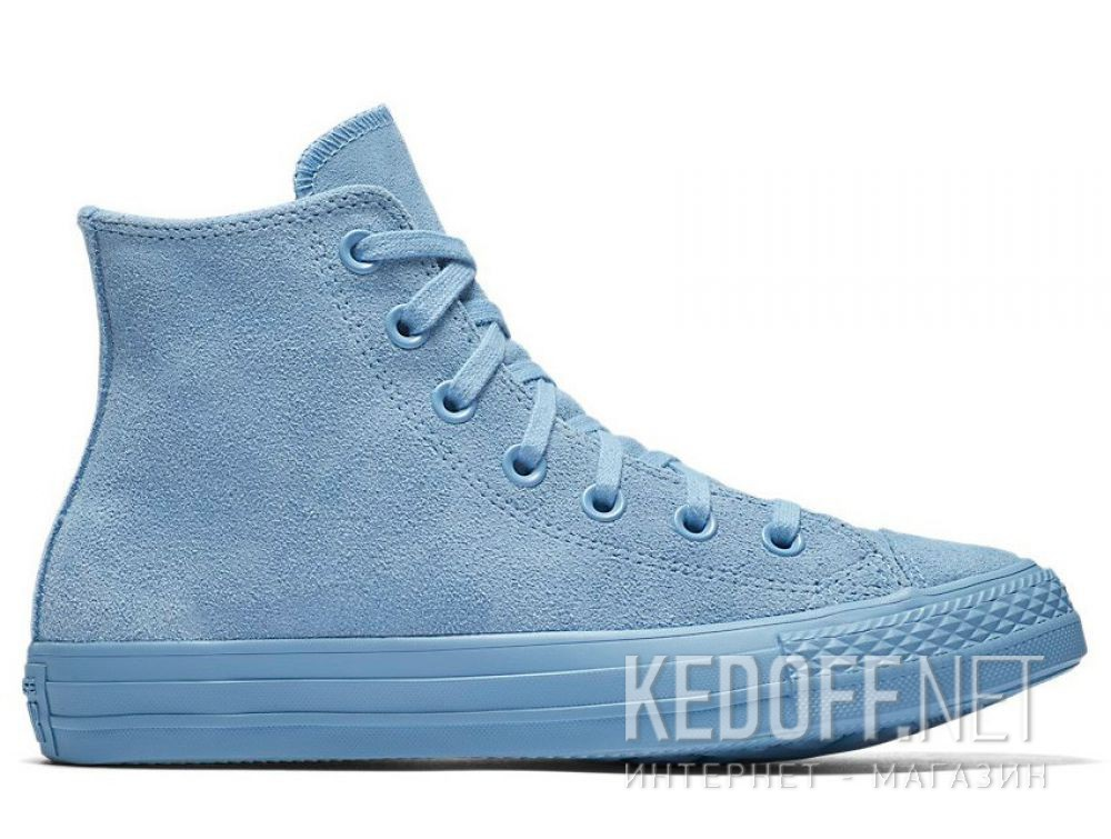 1e45f2db938c Women s Converse Chuck Taylor All Star Mono Suede High Top 561729C Light  Blue купить Украина