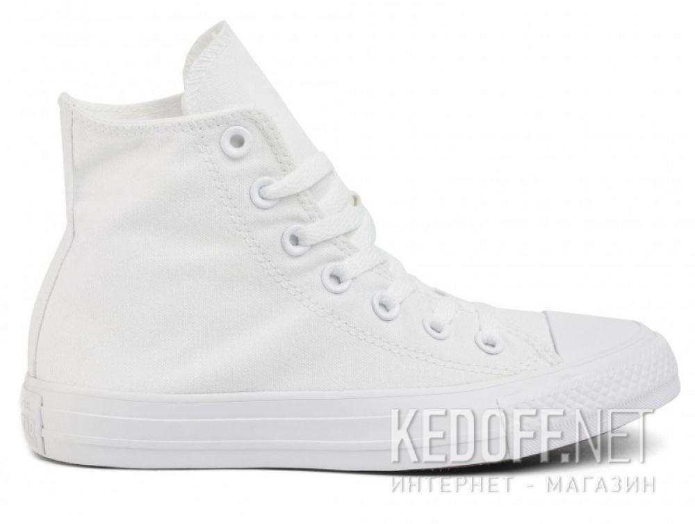 Оригинальные Белые кеды Converse Chuck Taylor All Star Mono High-Top 1U646