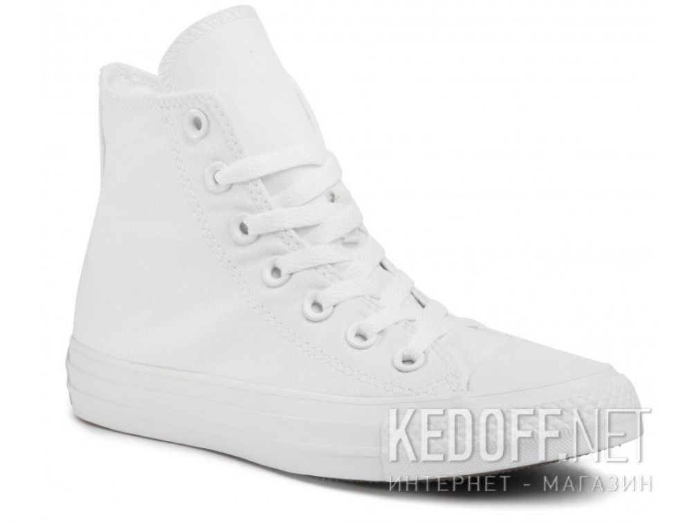 Купить Белые кеды Converse Chuck Taylor All Star Mono High-Top 1U646
